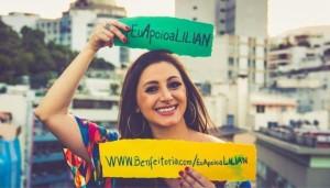 Notícias: Cantora Lilian quer a sua ajuda para gravar primeiro disco