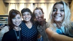Notícias: Nando Reis grava disco com participações de Luiza Possi e Tulipa Ruiz